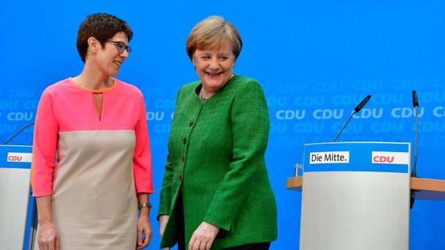 Annegret Kramp-Karrenbauer CDU-Generalsekretärin
