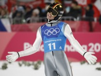Ski Jumping - Winter Olympics Day 10