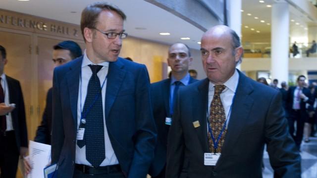 Luis de Guindos, Jens Weidmann