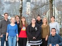Der neu gewählte Bezirksvorstand der Jusos Oberbayern: Vorsitzende Lena Wagner aus Egmating