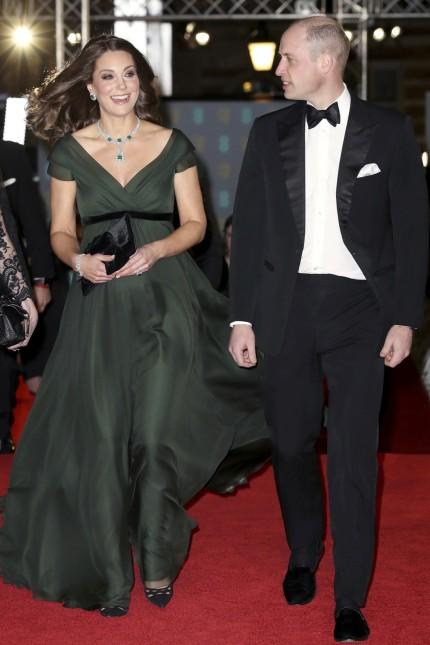 Bafta Awards - Kate trägt Grün statt Schwarz - Panorama - Süddeutsche.de