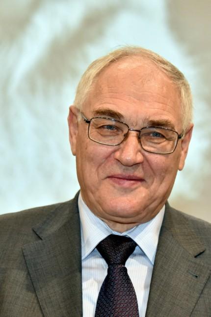Der Preisträger der russische Soziologe Lew Gudkow am 26 11 2017 in Köln bei der Verleihung des Lew