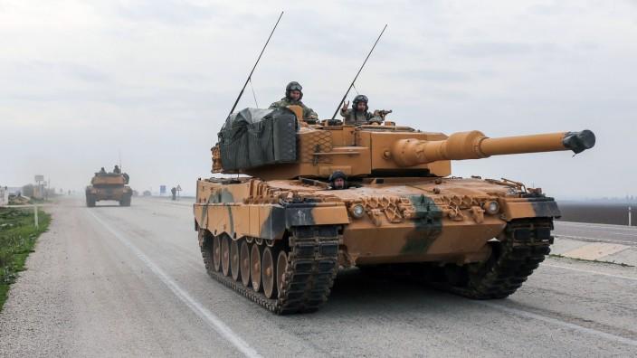 Leopard 2 Panzer der Türkei