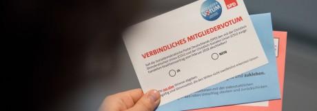 SPD - Mitgliedervotum
