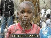 Flüchtlingskind in Afrika; dpa