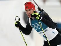Biathlon - Winter Olympics Day 9