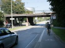 Fahrradverkehr in München, 2017