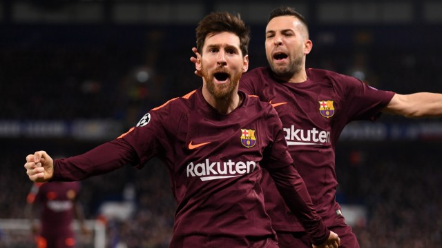Chelsea FC v FC Barcelona - UEFA Champions League Round of 16: First Leg
