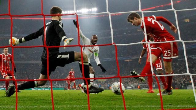 Champions League Round of 16 First Leg - Bayern Munich vs Besiktas