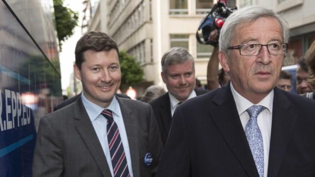 Martin Selmayr Jean-Claude Juncker EU Kommission