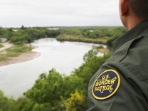 Customs And Border Protection Patrols U.S. Border As Illegal Crossings Plummet
