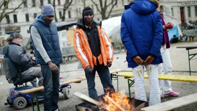 Schonfrist für Flüchtlingscamp am Berliner Oranienplatz
