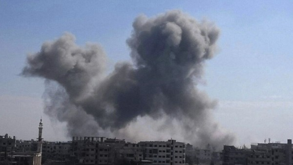 Luftangriffe auf syrisches Rebellengebiet Ost-Ghuta