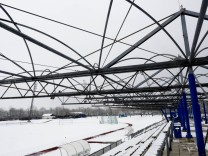 Dachgerüst Sportstadion Vaterstetten