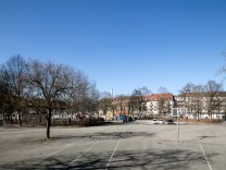 Candidplatz in München, 2017