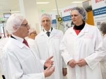 Competence Center der Schreiner Group wird eröffnet, Ministerin Aigner ist Gast. Oberschleißheim