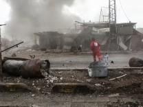 Syrien: Ost-Ghuta steht 2018 im Bürgerkrieg unter heftigem Beschuss.