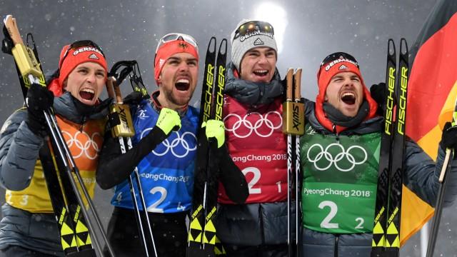 Olympia Drittes Gold für Kombinierer