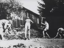 Ickinger Schule - Baracke von 1950