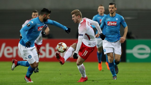 RB Leipzig v Napoli - UEFA Europa League