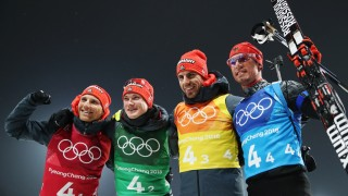 Biathlon - Winter Olympics Day 14