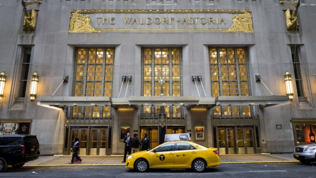 Iconic Waldorf Astoria Hotel In NYC To Close Down For Two-Year Renovation