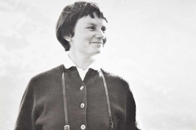 Porträt Inge Kolb etwa 1952