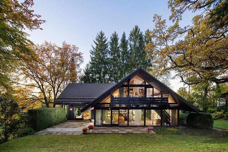 Bilder von der Riefenstahl-Villa am Starnberger See - München ...