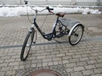 sichergestellten Dreirad  in Olching