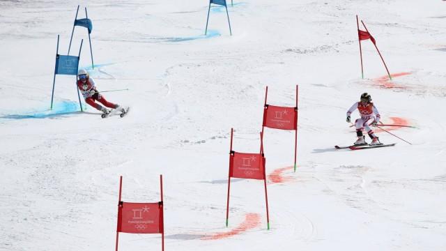 Alpine Skiing - Winter Olympics Day 15