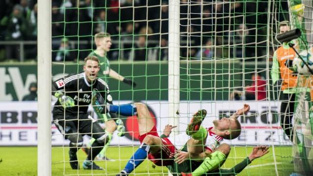 Fußball 1 Bundesliga Saison 2017 2018 24 Spieltag SV Werder Bremen Hamburger SV am 24 02 201