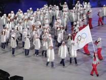 Pyeongchang 2018 - Eröffnungsfeier