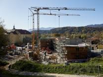 Baustelle Osterleite - Krankenhausstraße