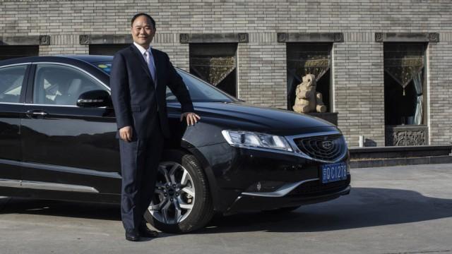 Geely Gründer Li Shufu ist neuer Aktionär der Daimler AG