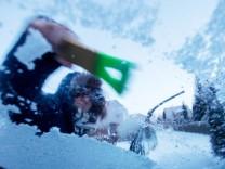 Frost in Deutschland: Eine extreme Kältewelle rollt im Februar 2018 über Deutschland hinweg.