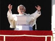 Papst Benedikt, dpa