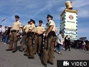 Nach Terrordrohungen gegen Oktoberfest