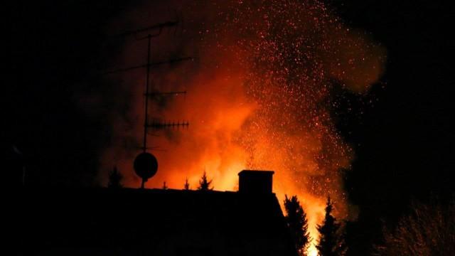 Brand in Schwaberwegen