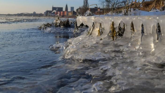 Winter an der Oder