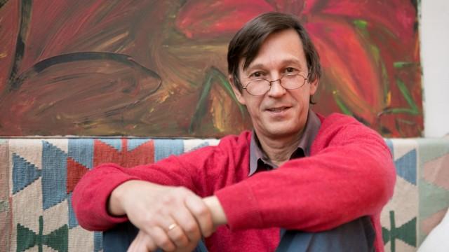 Norbert Kästle, Produktionsleiter von Moosach macht Oper, bei ihm zu Hause, Pelkovenstr. 117, Tassilo-Preis