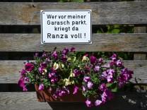 Schwäbisches Parkverbot