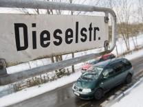 Fahrverbote für Diesel