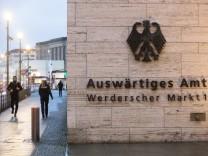 Berlin 29 01 2018 Gebäude Auswärtiges Amt im Bild Symbolbild Berlin Brandenburg *** Berlin 29