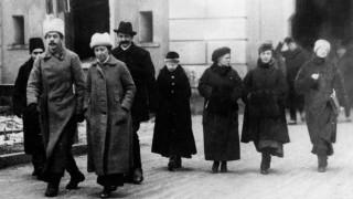 Frauen bei den Friedensverhandlungen von Brest-Litowsk, 1918