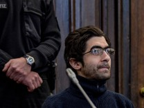Palestinian asylum seeker and radicalised Islamist Ahmad A. waits for his sentence in Hamburg