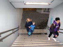 Provisorien am S-Bahnhof; S-Bahnhof Stockdorf