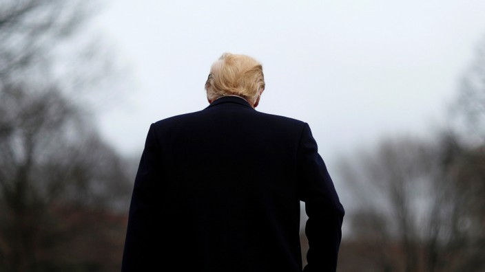 FILE PHOTO: U.S. President Trump departs the White House on his way to address the Conservative Political Action Conference in Washington