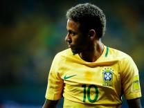 Brasiliens Superstar Neymar 2017 bei einem Qualifikationsspiel zur WM 2018 in Russland