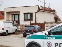 Das Haus in Velka Maca, in dem Jan Kuciak und seine Freundin lebten