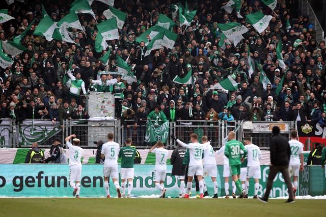03 03 2018 Fussball Saison 2017 2018 2 Fussball Bundesliga 25 Spieltag 1 FC Nürnberg N